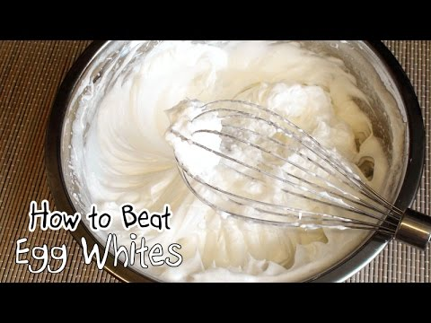How To Beat Egg Whites | How To Separate Egg Whites 如何打發蛋白霜 - JosephineRecipes.co.uk