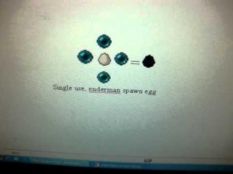 Minecraft spawn egg crafting recipies