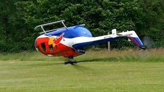 Custom Scale Helicopter MD500 800size Test flight - PakVim