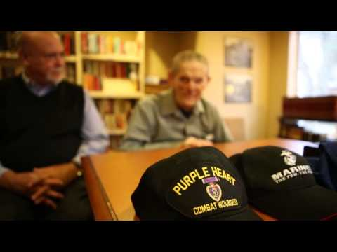 Vets Helping Vets: WWII, Vietnam Vet Bond Over Shared Experience