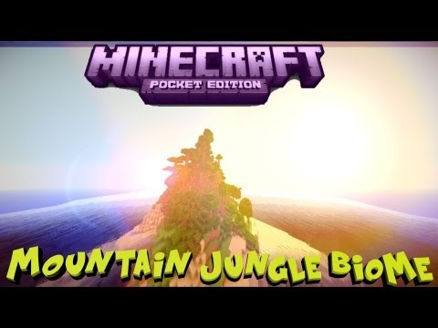 Minecraft PE 0.7.5 Mountain+Jungle island Biome! [DOWNLOAD] [0.7.4] [0.7.5] [0.8.0]