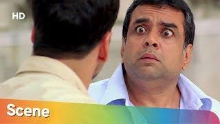 Paresh Rawal Comedy Scene From Bhagam Bhaag | Akshay Kumar | Govinda - Superhit Hindi Movie