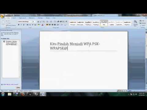 Video Tutorial Setting Wifi Pada Modem TP Link