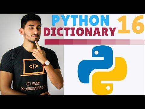Learn Python Programming - 16 - Dictionaries