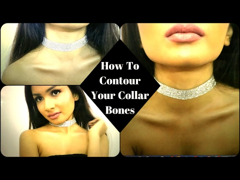 How To Contour Your Collar Bones