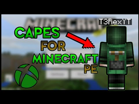 [NO ROOT] How to get FREE CAPES in Minecraft Pocket Edition | TUTORIAL 2018 | NO HACKS | 1.4.2-1.2.4