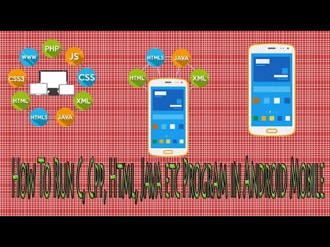 How To Run Html, Css, JavaScript, Cpp, C, etc Program in Android Mobile Offline Hindi/English