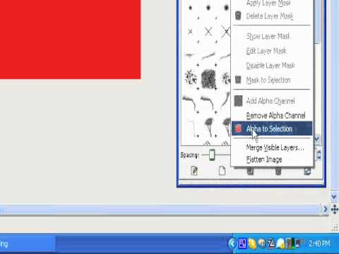 How To Make An Outline Around Your Text In Gimp
