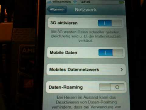 iPhone 5 / 4s / 4 / 3G / 3GS iOS 4 / 4.0 / 4.0.1 / 5.0.1 / 5.1 / 6 Internet APN wieder herstellen