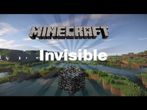 MCPE 0.14.3 how to get invisible bedrock