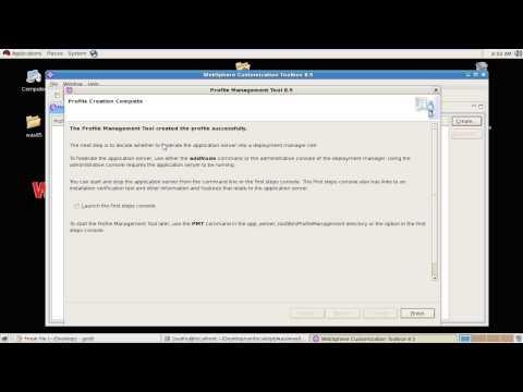 creating Application server profile in WebSphere application server v 8 5 on Linux