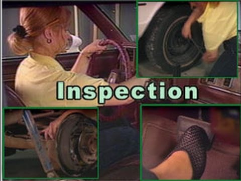 Fixing Cars #8: Annual Safety inspection Checklist.