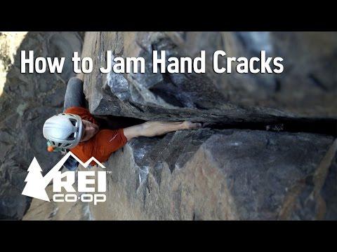 Climbing: How to Jam Hand Cracks