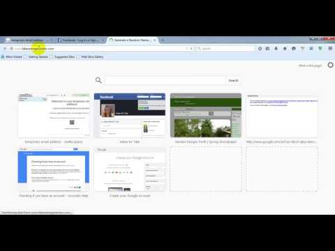 How to Create a facebook ID using primary email...
