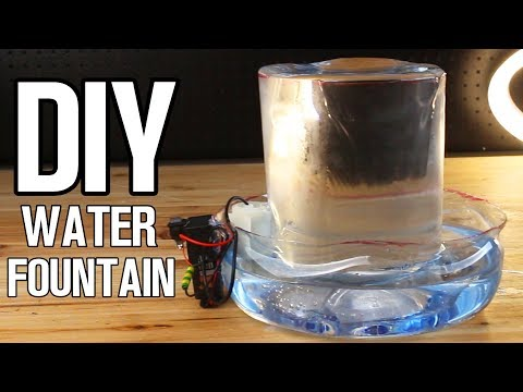 DIY Simple Water Fountain from Plastic Bottles!