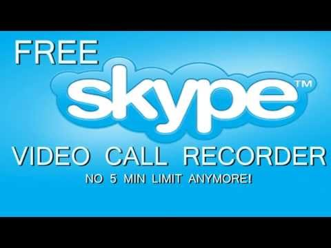 Free skype video call recorder (100% working, no record limit!)