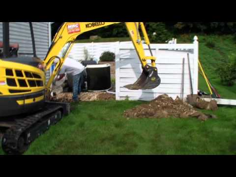 Replacing foundation (french) drains. Also water proofing basement.