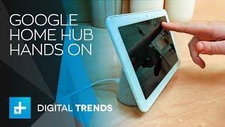 Google Home Hub -  Hands On