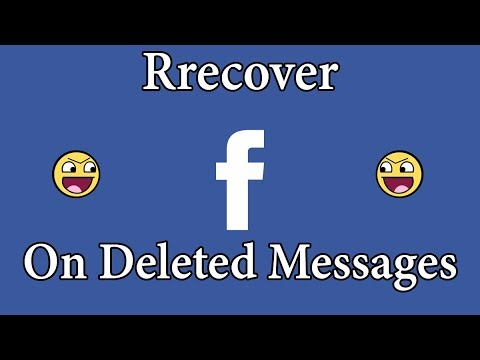 how to recover Facebook deleted messages (2018)