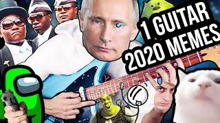 1 GUITAR, 2020 MEMES