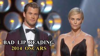 Oscars Bad Lip Reading Compilation