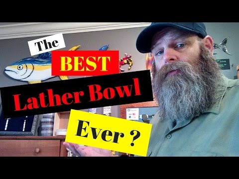 Could this be the best shave lather bowl ever? Link in the description!