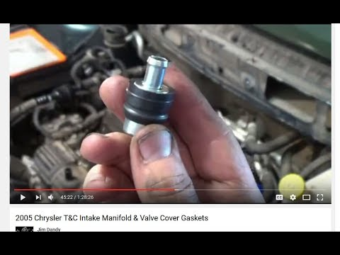2005 T&C PCV Valve Replacement
