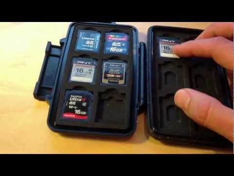 Pelican SD memory card case 0915 Review