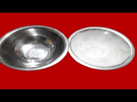 clean hard water & calcium stain   easy trick way   effort free