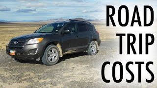 How Much My 30-Day Road Trip Cost (Vandwelling/SUV Camping Budget)