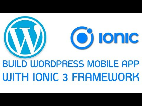 Wordpress Ionic App #3 Add provider for fetch data from wp-json