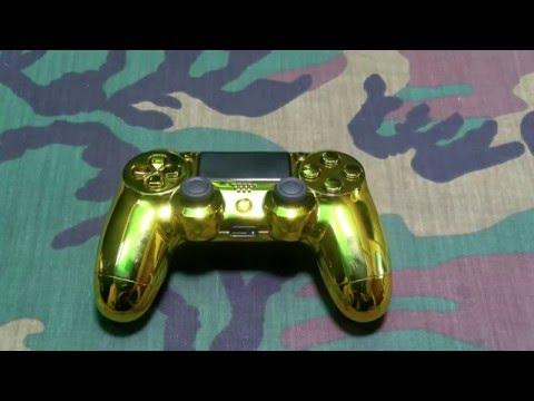 Controller Chaos Custom Playstation 4 Controller - Gold Edition