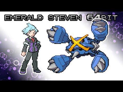 Pokemon B2/W2 Style: Battle! Emerald Trainer Steven [64bit]