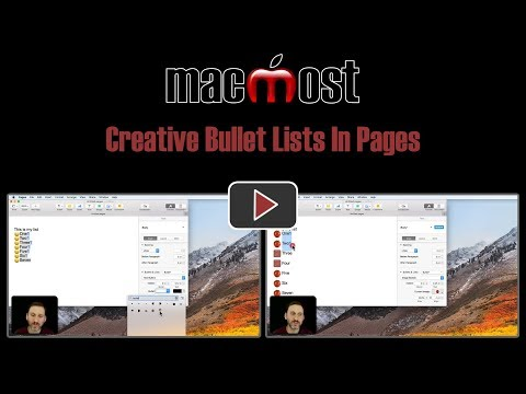 Creative Bullet Lists In Pages (#1659)