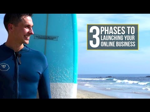 3 Phases to Launching Your Online Business