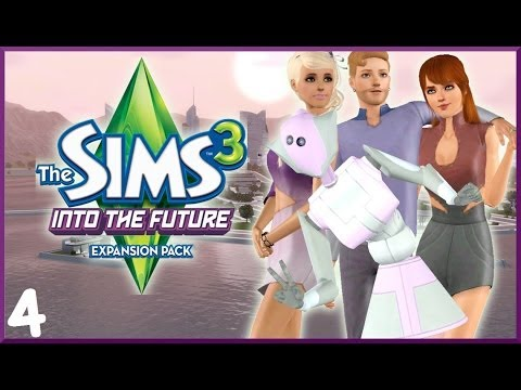 Let's Play: The Sims 3 Into The Future- (Part 4) - Utopia