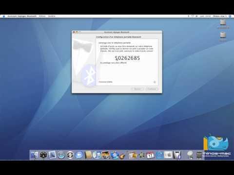 22 • Le Bluetooth de votre Mac • Mac OS X Tiger (tutoriel vidéo)