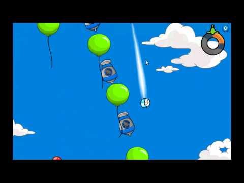 Club Penguin - Puffle Launch Blue Sky Level 7