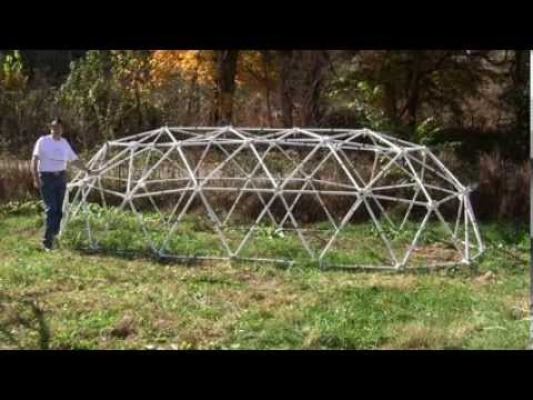 Zip Tie Tunnel Domes