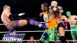 The Usos & New Day vs Los Matadores & Cesaro and Tyson Kidd: SmackDown, March 12, 2015