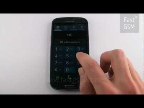 samsung galaxy s3 gt i9300 unlock code