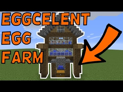 How To Build An Efficient Egg Farm In Minecraft! 1.11.2+