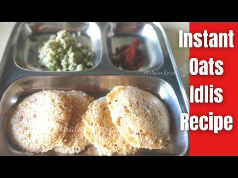 oats idli recipe | instant oats idli recipe | masala oats idli recipe|Episode 62