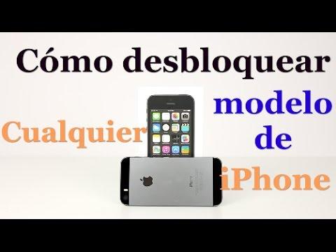 Cómo desbloquear cualquier modelo de iPhone (Cualquier operador o país) Verizon, AT&T, Sprint, ETC
