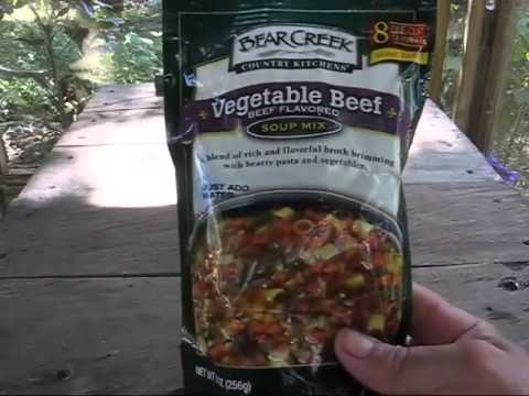 bear creek vegetable beef dry soup mix review