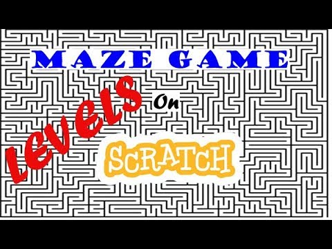 How to add Levels to your Maze Game In Scratch!!!