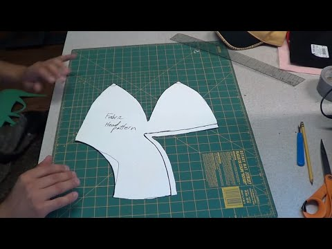 How to make a puppet and pattern from scratch!