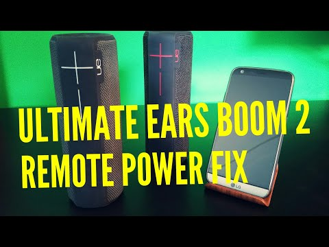UE BOOM 2 HOW TO FIX REMOTE POWER