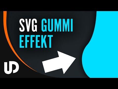 Gummi Effekt Tutorial bei SVG Grafiken mit JavaScript im Web Design! [TUTORIAL]