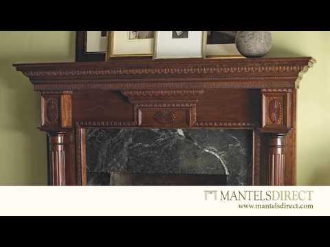 Mantels Direct Wood Fireplace Mantels - Shorts 5